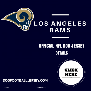 Los Angeles Rams Dog Football Jersey