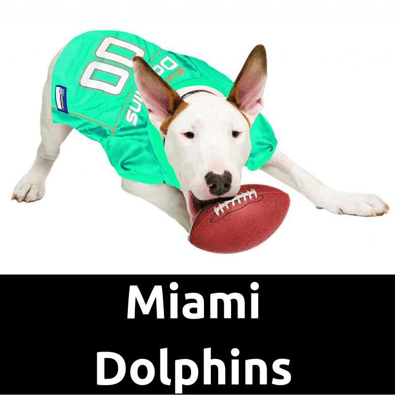 outlet store dca85 50db1 Miami Dolphins Dog Jersey | Dog Football Jersey